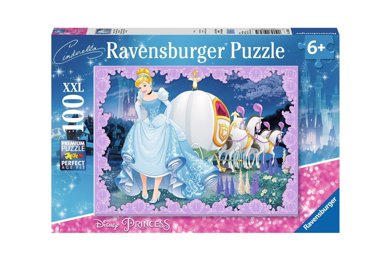 Puzzle Ravensburger - Cenusareasa, 100 piese (10843)