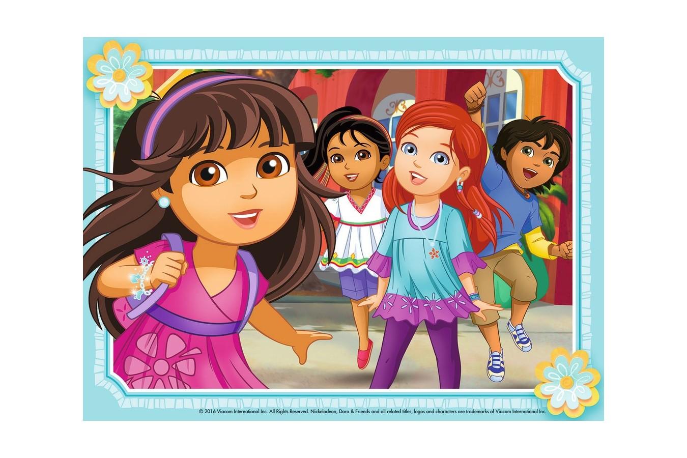 Puzzle Ravensburger - Dora Si Prietenii, 12/16/20/24 piese (07160)