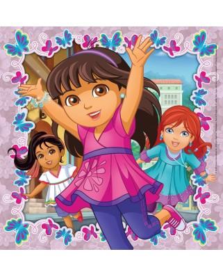 Puzzle Ravensburger - Dora Si Prietenii, 3x49 piese (09212)