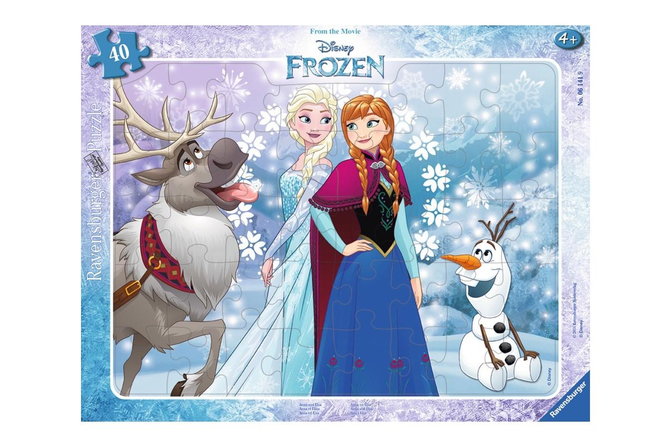 Puzzle Ravensburger - Frozen, 38 piese (06141)