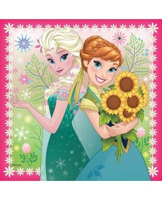 Puzzle Ravensburger - Frozen, 3x49 piese (09356)