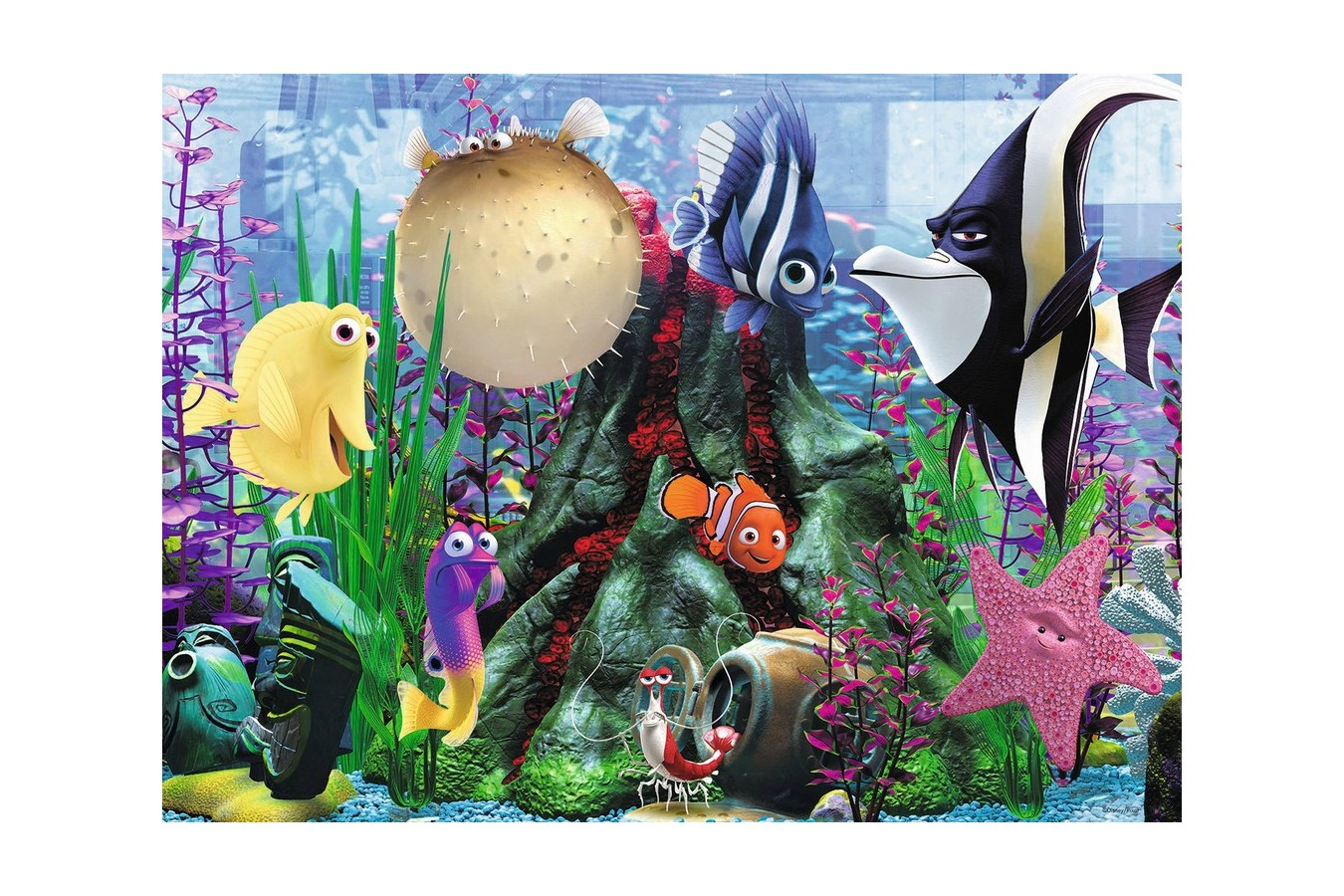 Puzzle Ravensburger - Acvariul Lui Nemo, 100 piese (10575)