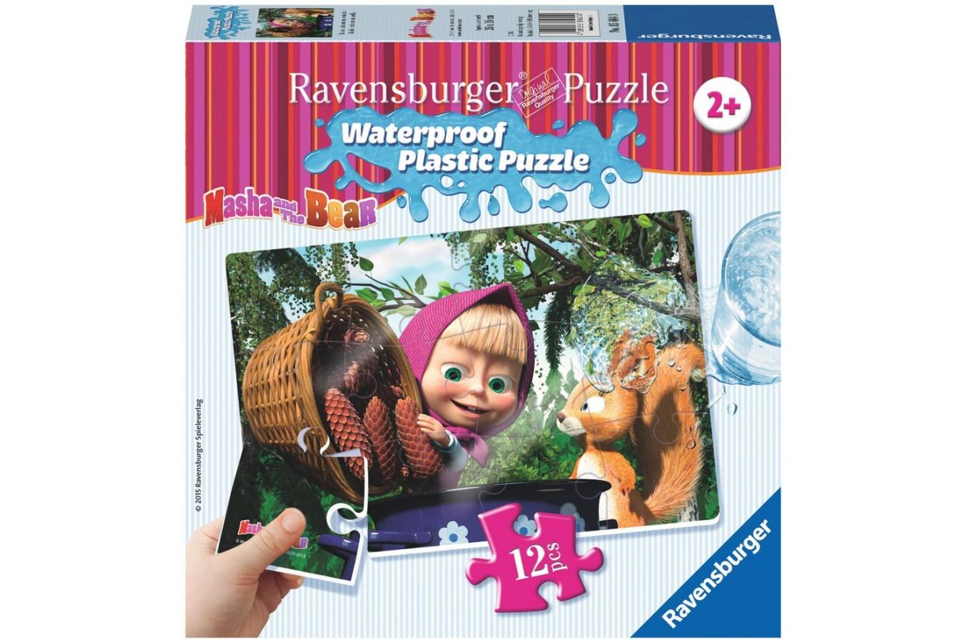 Puzzle Ravensburger - Masha Si Ursul, 12 piese (05604)