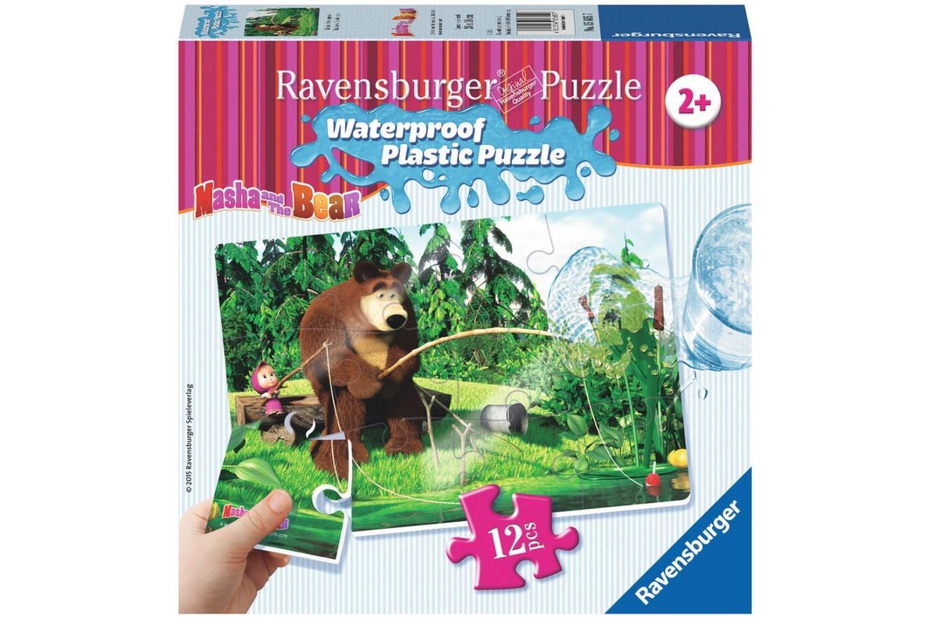 Puzzle Ravensburger - Masha Si Ursul, 12 piese (05605)