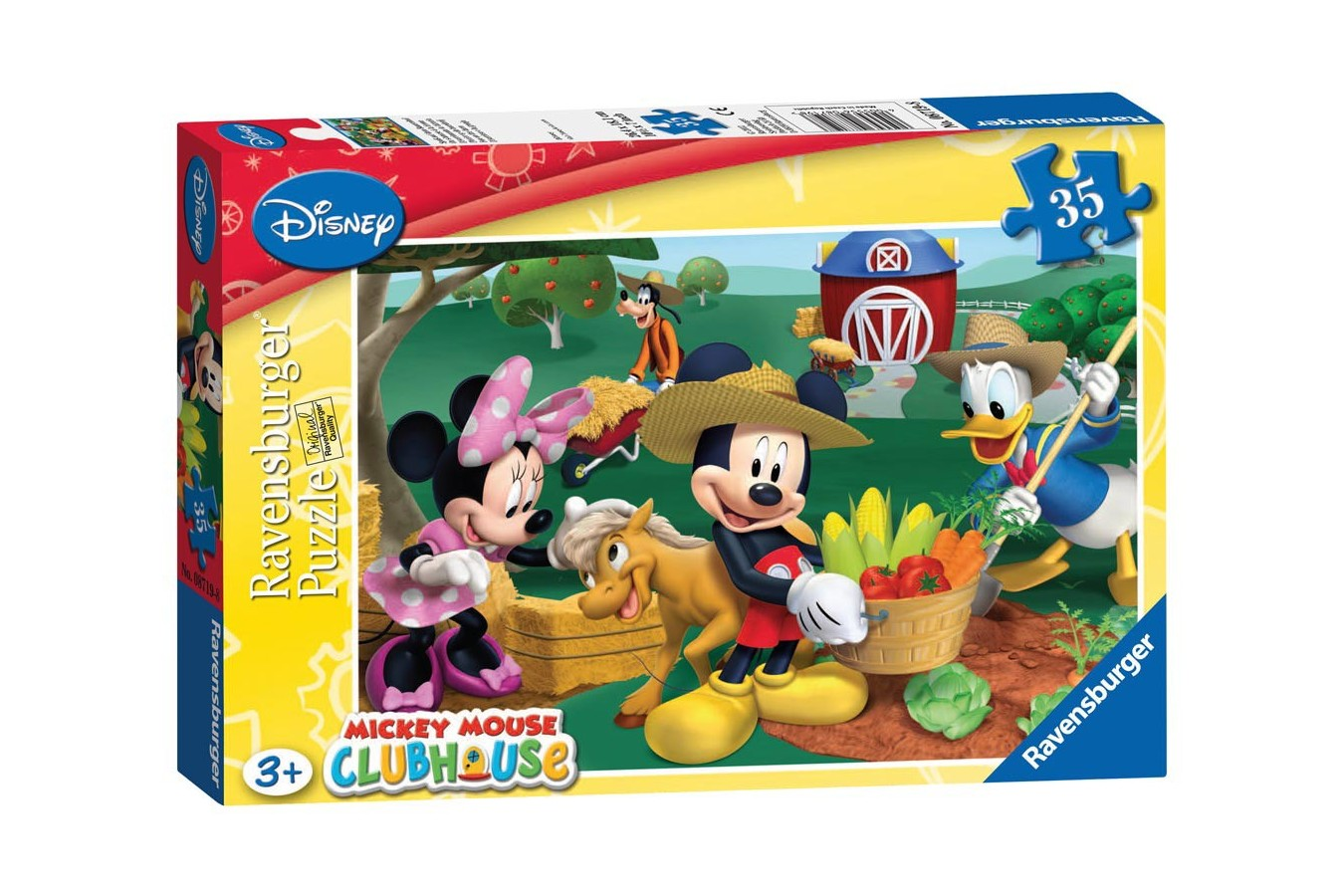 Puzzle Ravensburger - Mickey Mouse, 35 piese (08719)