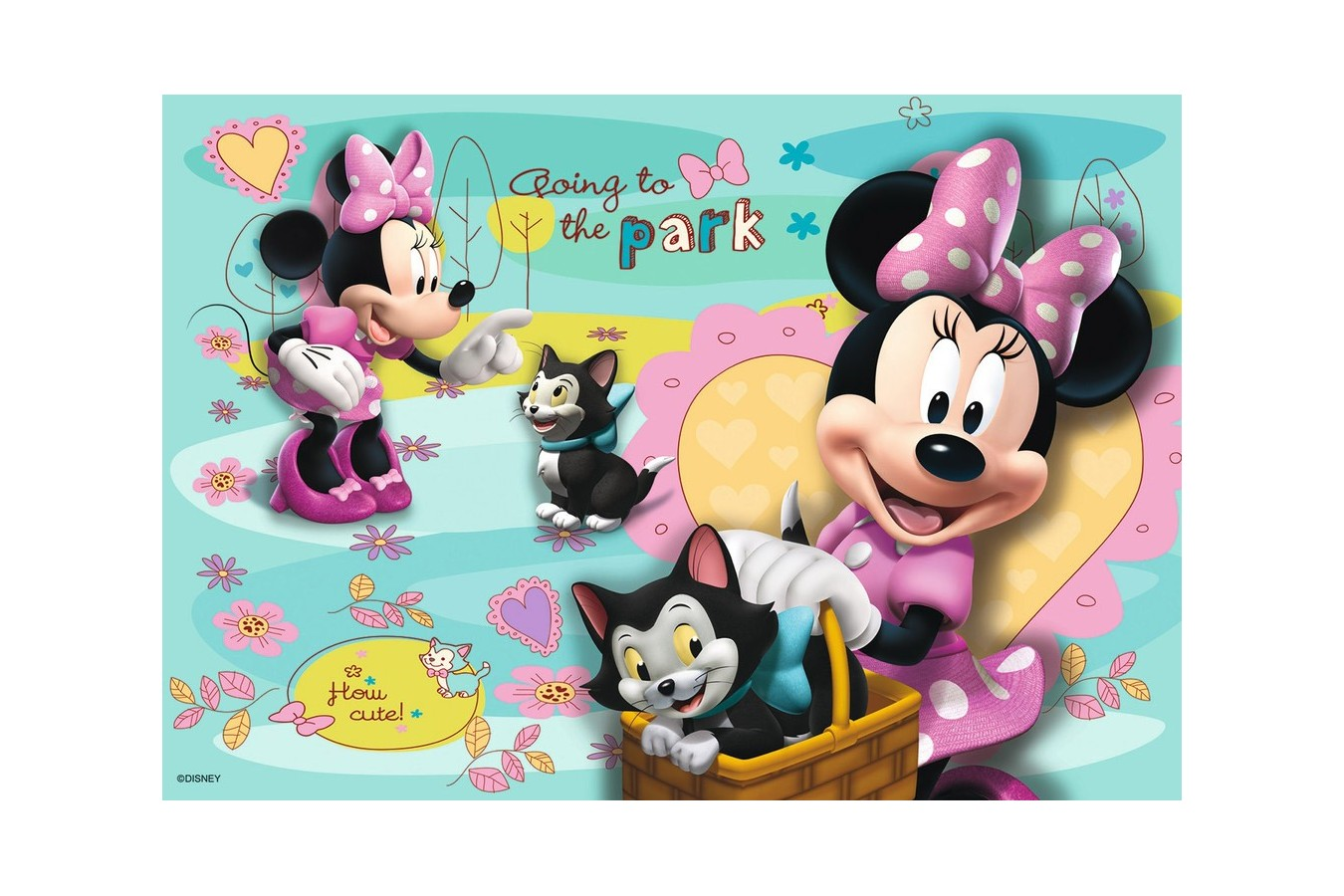Puzzle Ravensburger - Minnie Mouse, 2x24 piese (08862)