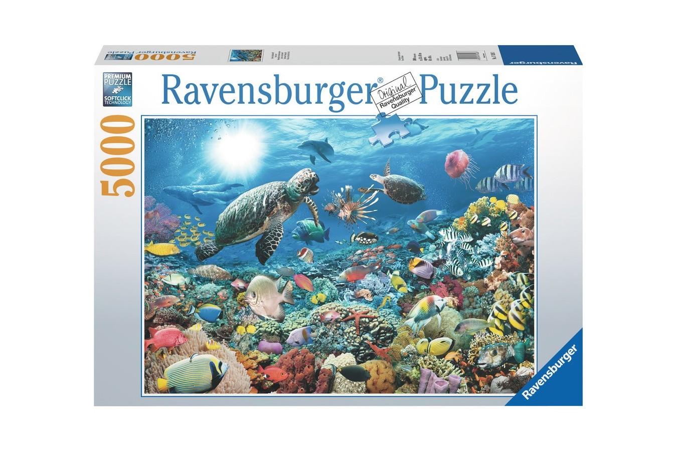 Puzzle Ravensburger - Adancul Marii, 5.000 piese (17426)