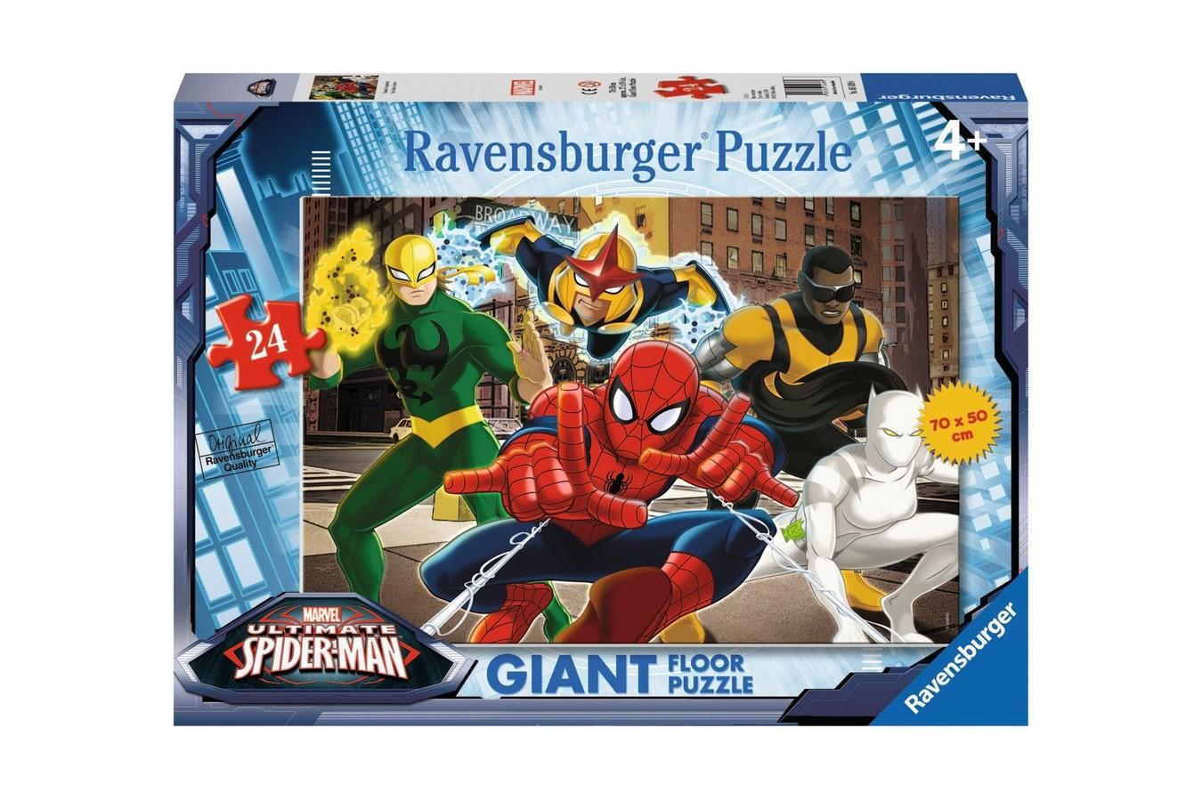 Puzzle Ravensburger - Omul Paianjen, 24 piese (05439)