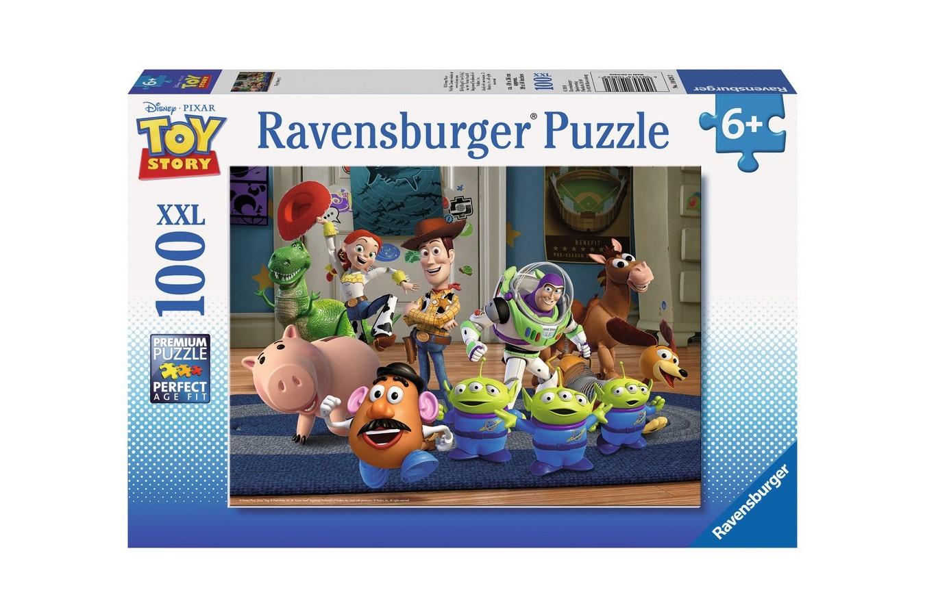 Puzzle Ravensburger - Povestea Jucariilor, 100 piese (10828)