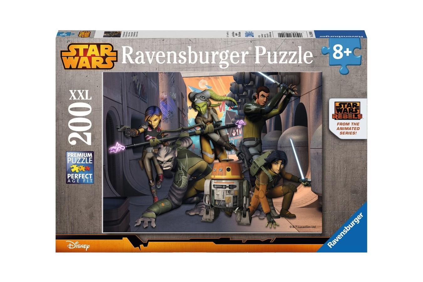 Puzzle Ravensburger - Razboiul Clonelor, 200 piese (12809)