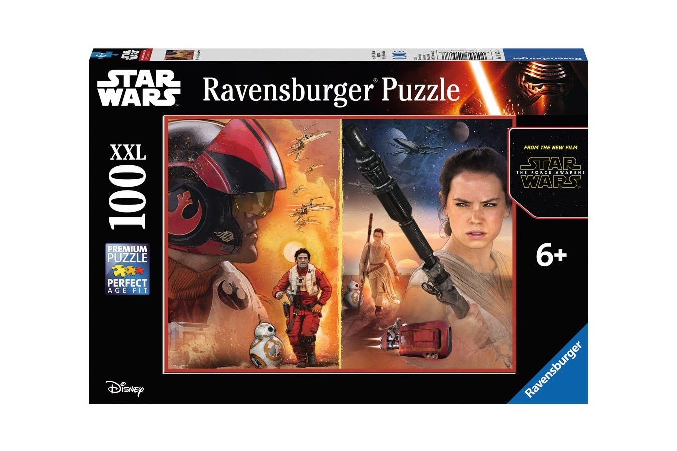 Puzzle Ravensburger - Razboiul Clonelor, 100 piese (10587)