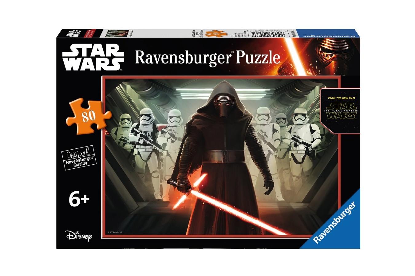 Puzzle Ravensburger - Razboiul Clonelor, 80 piese (10586)
