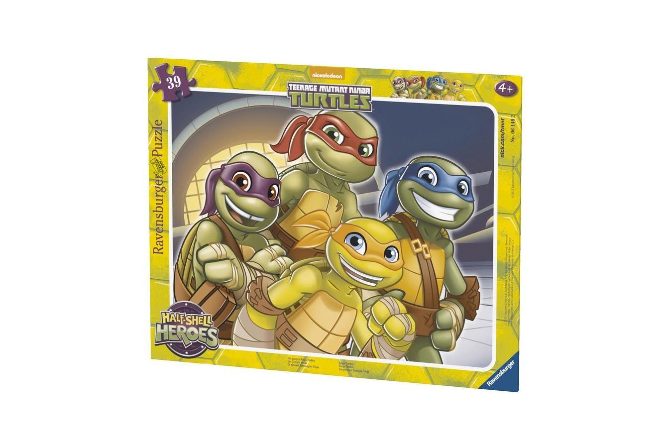 Puzzle Ravensburger - Testoasele Ninja, 39 piese (06140)