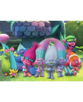 Puzzle Ravensburger - Trolls, 100 piese (10928)