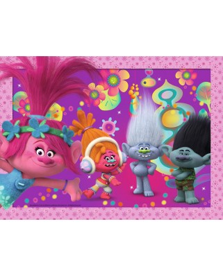 Puzzle Ravensburger - Trolls, 100 piese (10953)