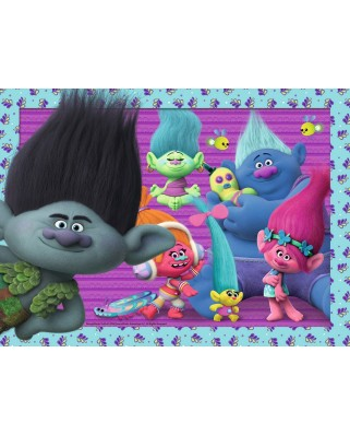 Puzzle Ravensburger - Trolls, 200 piese (12839)