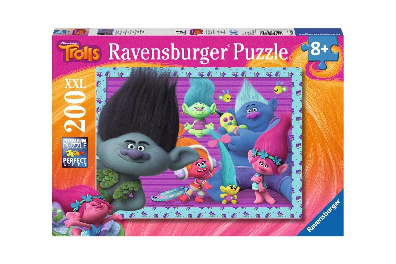 Puzzle Ravensburger - Trolls, 200 piese (12839)