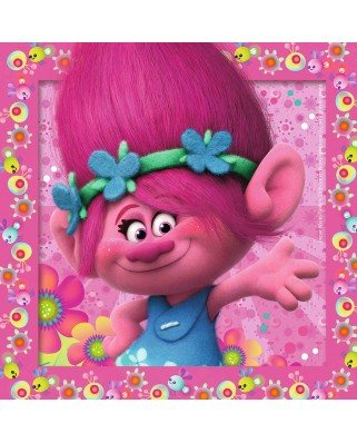 Puzzle Ravensburger - Trolls, 3x49 piese (08013)