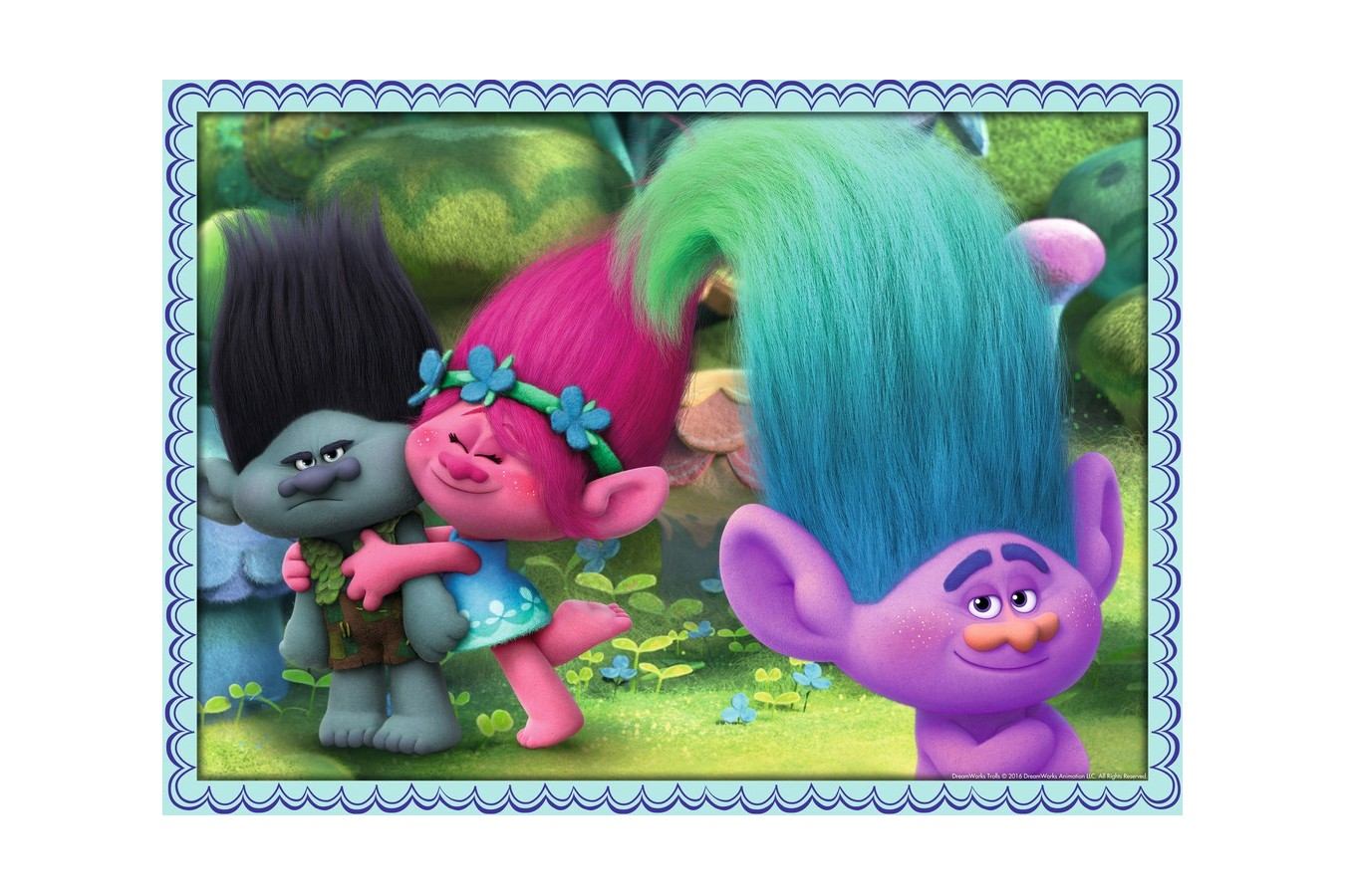Puzzle Ravensburger - Trolls, 100 piese (06861)