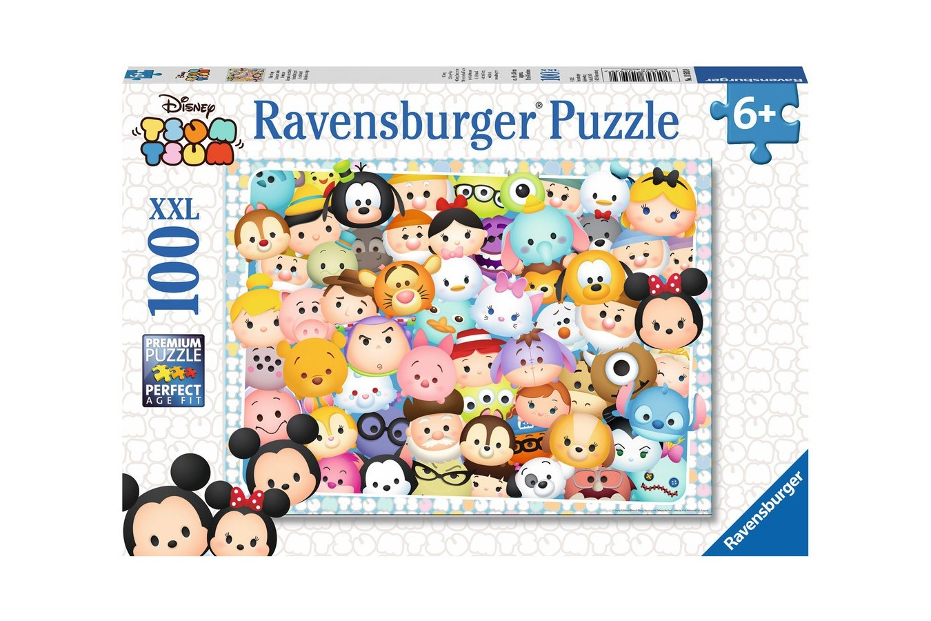 Puzzle Ravensburger - Tsum Tsum, 100 piese (10593)