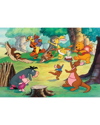 Puzzle Ravensburger - Winnie The Pooh, 2x24 piese (08856)