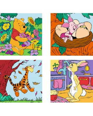 Puzzle Ravensburger - Winnie The Pooh, 6/9/12/16 piese (07123)