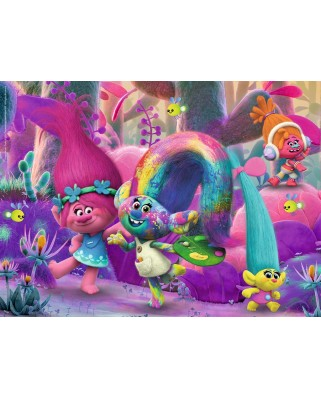 Puzzle Ravensburger - Trolls, 100 Piese