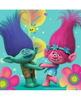 Puzzle Ravensburger - Trolls, 3X49 Piese