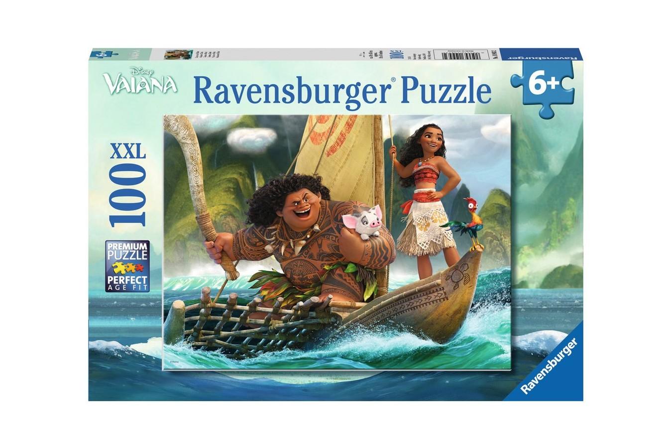 Puzzle Ravensburger - Vaiana, 100 Piese