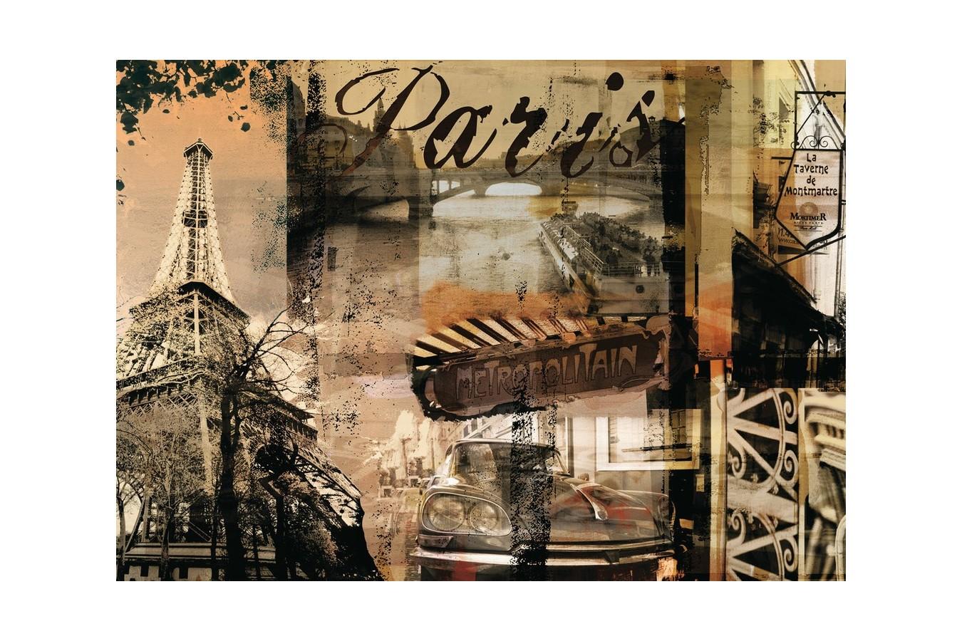Puzzle Ravensburger - Amintiri Din Paris, 1.000 piese (15729)