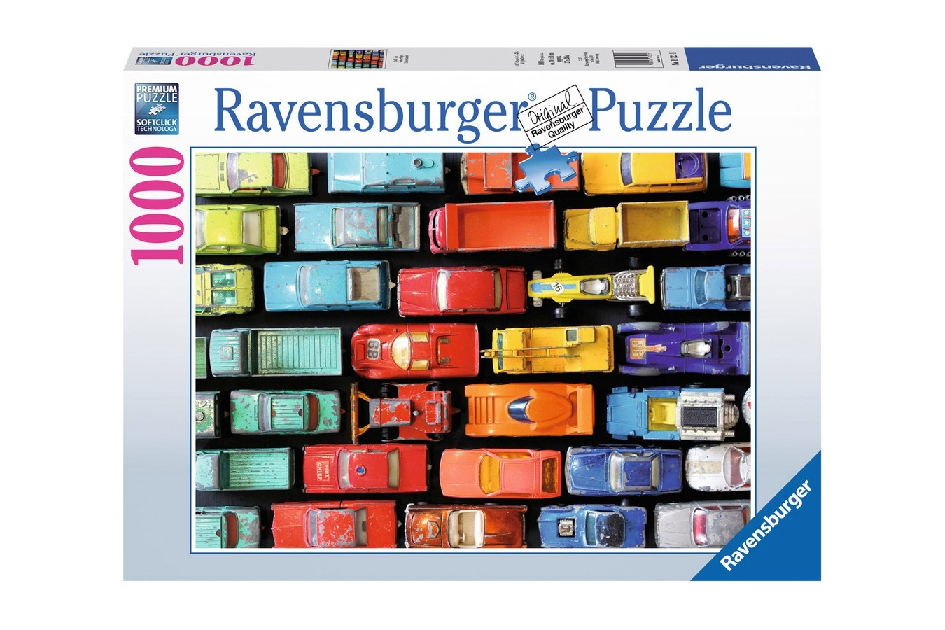 Puzzle Ravensburger - Ambuteiaj, 1000 Piese