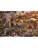 Puzzle Ravensburger - Animale Din Africa, 3000 Piese