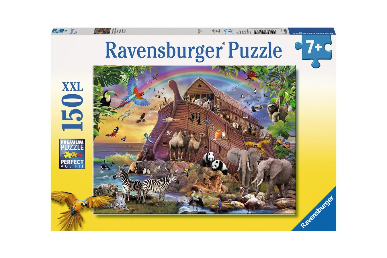Puzzle Ravensburger - Arca Cu Animalute, 150 Piese