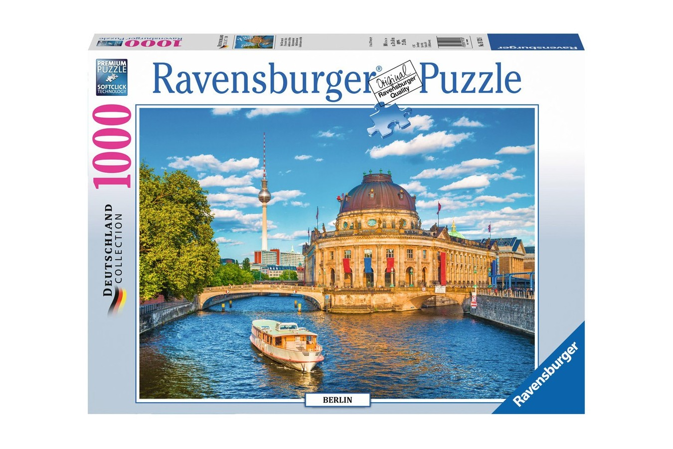Puzzle Ravensburger - Berlin, 1000 Piese