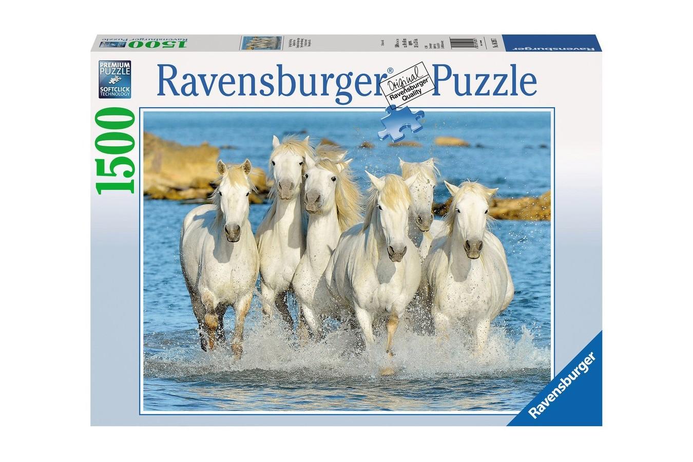 Puzzle Ravensburger - Cai In Apa, 1500 Piese