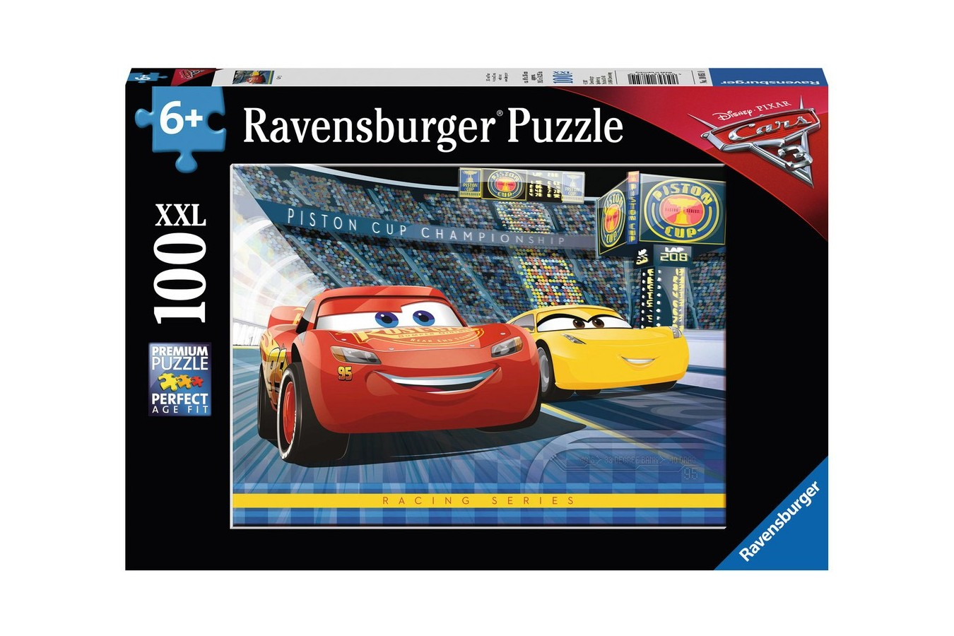 Puzzle Ravensburger - Cars, 100 Piese