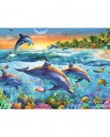 Puzzle Ravensburger - Delfini, 500 Piese