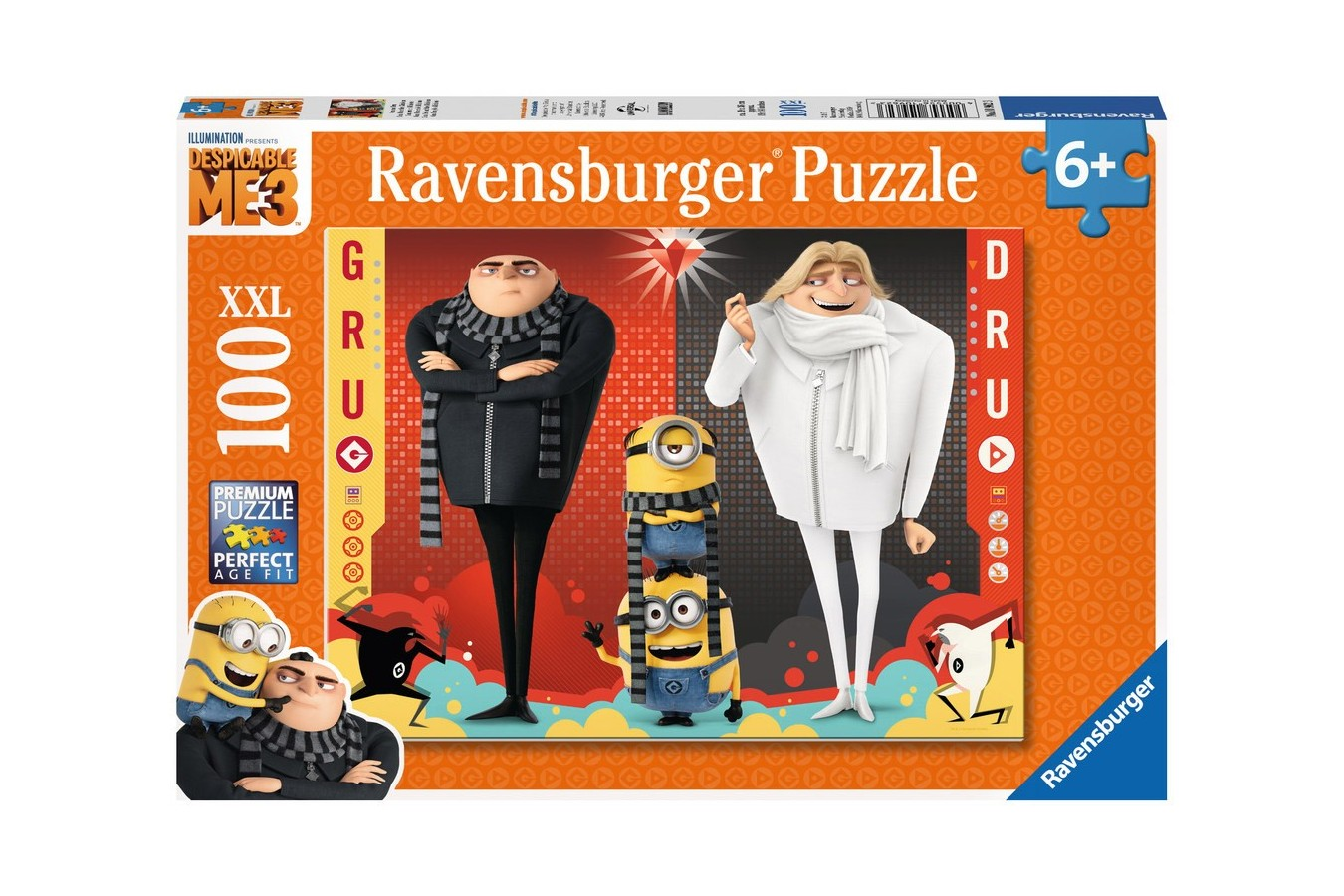 Puzzle Ravensburger - Despicable Me 3, 100 Piese