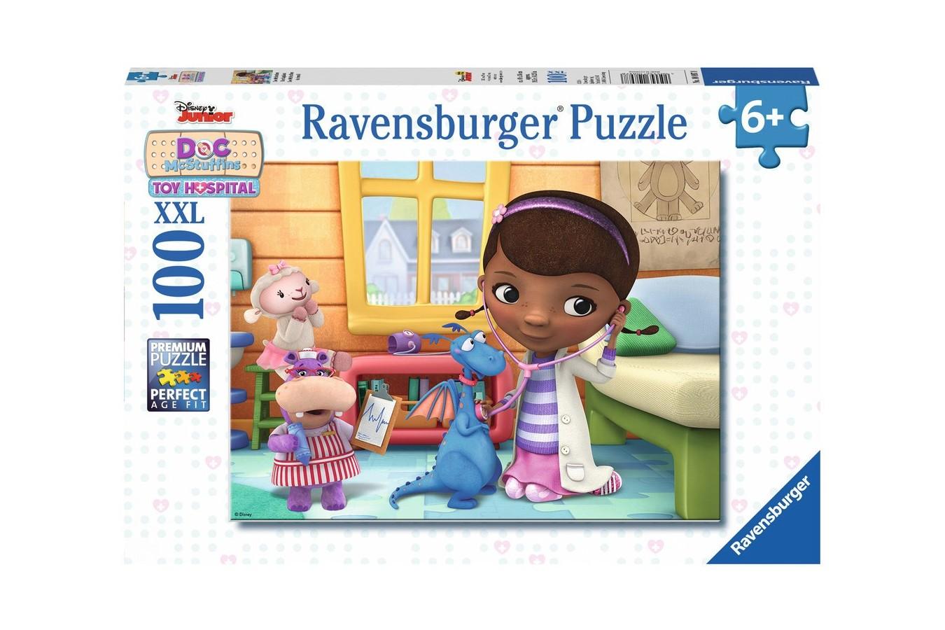 Puzzle Ravensburger - Doctorita Plusica, 100 Piese