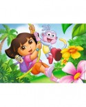 Puzzle Ravensburger - Dora, 2X12 Piese