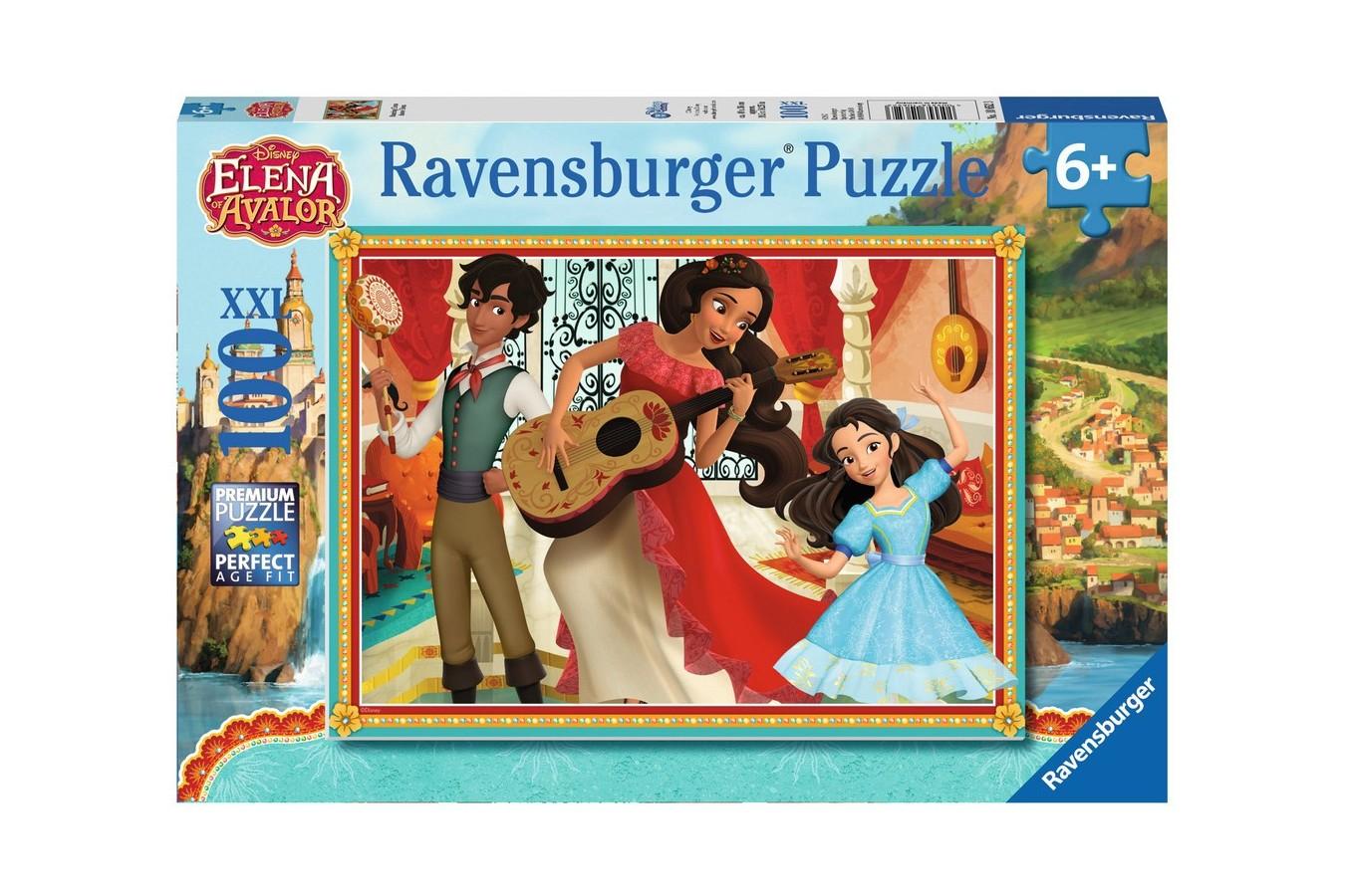 Puzzle Ravensburger - Elena Dansatoare, 100 Piese
