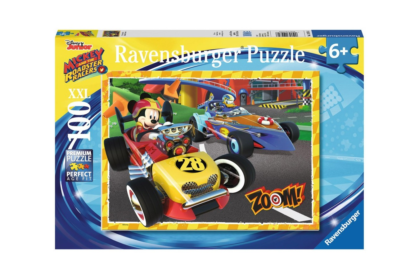 Puzzle Ravensburger - Go Mickey, 100 Piese