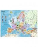 Puzzle Ravensburger - Harta Politica A Europei, 200 Piese