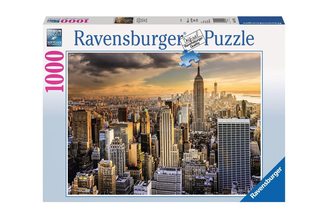 Puzzle Ravensburger - Marele New York, 1000 Piese