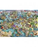 Puzzle Ravensburger - Minunile Europei, 1000 Piese