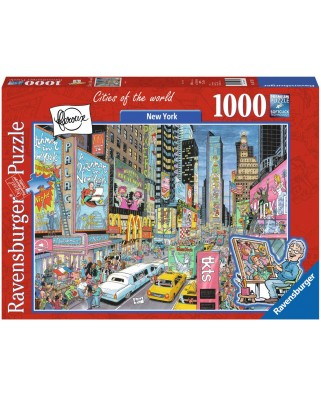 Puzzle Ravensburger - New York, 1000 Piese