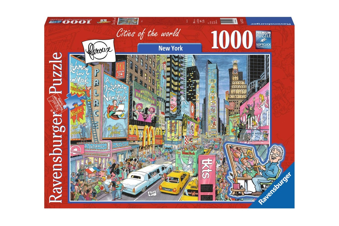Puzzle Ravensburger - New York, 1000 Piese