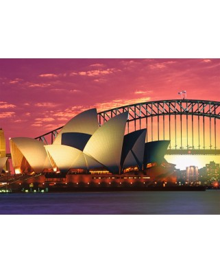 Puzzle Ravensburger - Opera Din Sydney, 1000 Piese