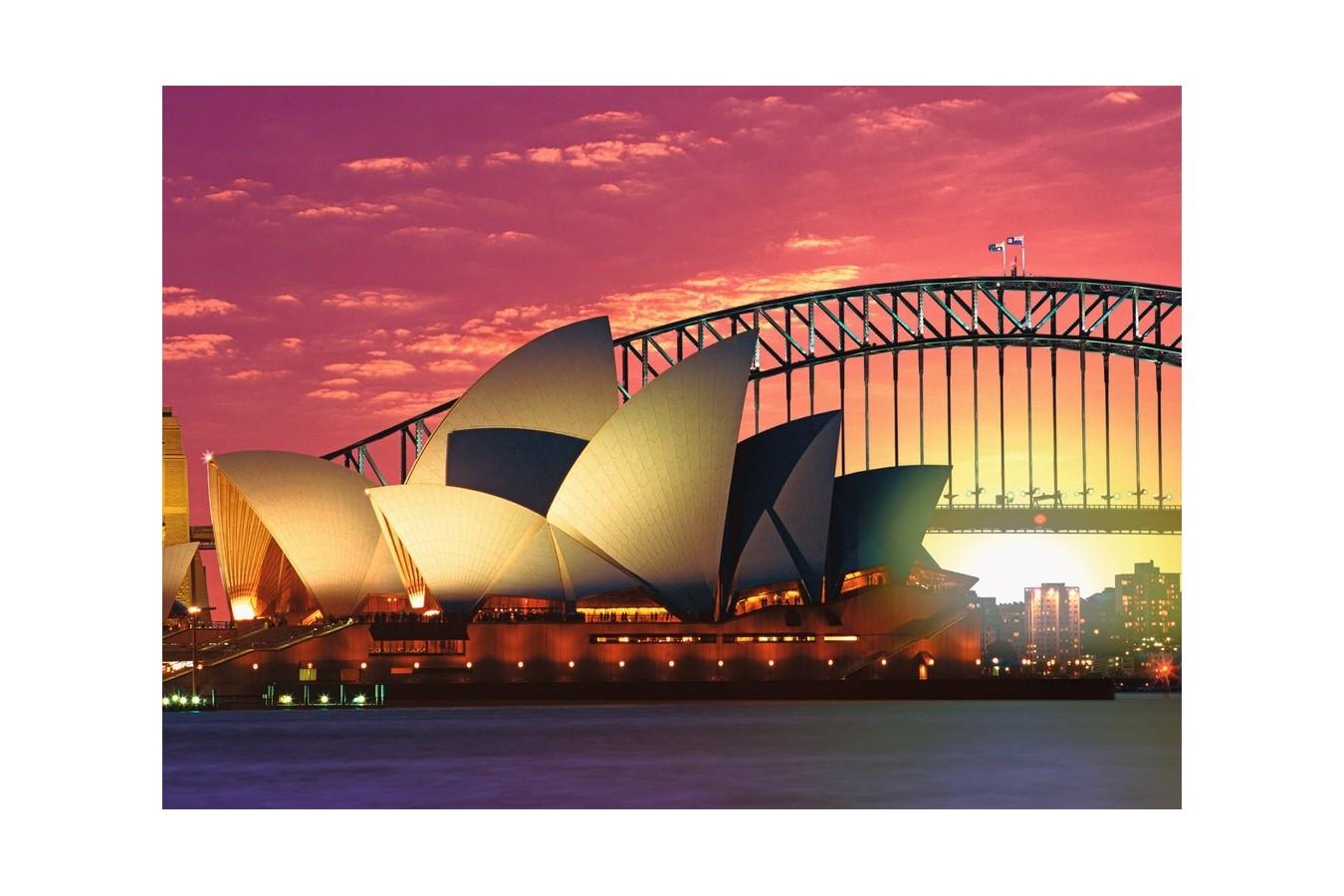 Puzzle Ravensburger - Opera Din Sydney, 1000 Piese