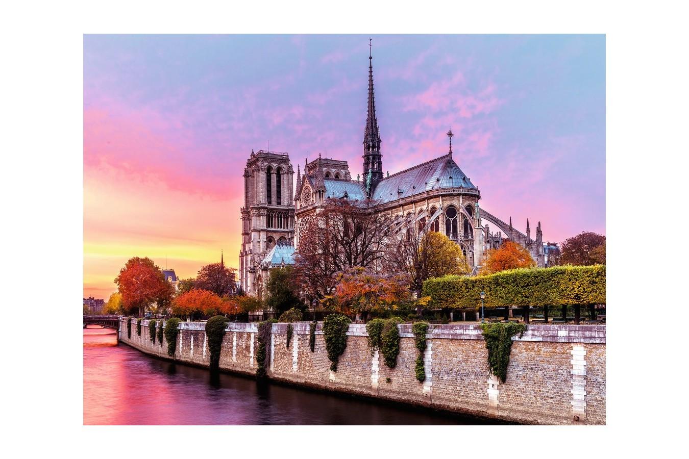 Puzzle Ravensburger - Pictura Notre Dame, 1500 Piese